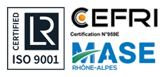 Lloyd's register – LRQA – ISO 9001 & CEFRI – Certification n°959E